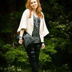 Outfit 5.25.12: Pro Photoshoot! and a Japanese Kimono Cape Coat
