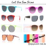 Bright and Pretty Sunnies for Memorial Day from Australian Brand Quayeyewear