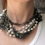 Styled by Tori Spelling Jewelry Components Review – and DIY Jumble Chain Choker Necklace
