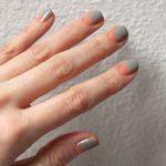 Elegantly Understated Half-Moon Manicure: Greige Neutrals