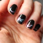 DIY Neon Sign Manicure: No Airbrush Needed