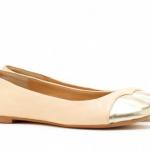 Object of Desire: Metallic Cap-toe Ballet Flat