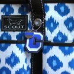 DIY Preppy Initial Back-to-School Keychain Bag Charm