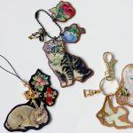 DIY: Quick n Easy Vintage-Style Iron-On Decal Leather Keyring Charms