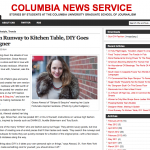 Chic Steals Featured In the Columbia News Service