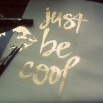 Inspiration: Gold Word Art