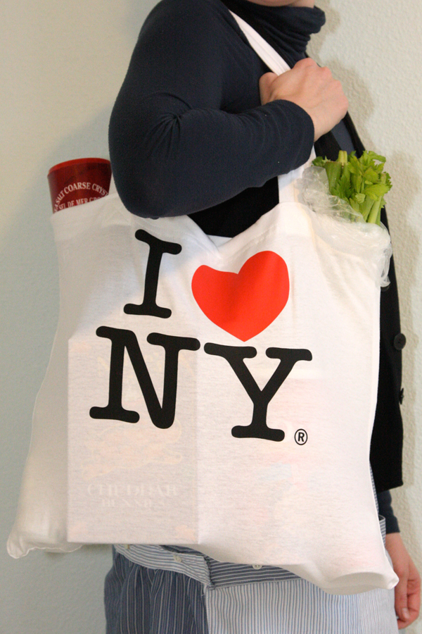 Diy i love new york tote made from a t shirt chic creative life thecheapjerseys Gallery