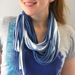 DIY Dyed Fabric Looped Scarf A.K.A How to Make a Necklush