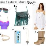 Going to Lollapalooza, Coachella, or Bonnaroo? Here's Your Music Festival Fashion Must-Haves!