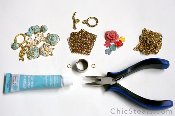 DIYenamelspringflowernecklace_materials2