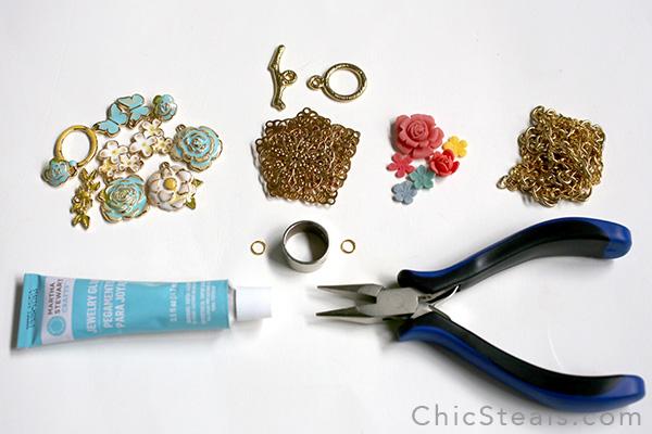 DIYenamelspringflowernecklace_materials2