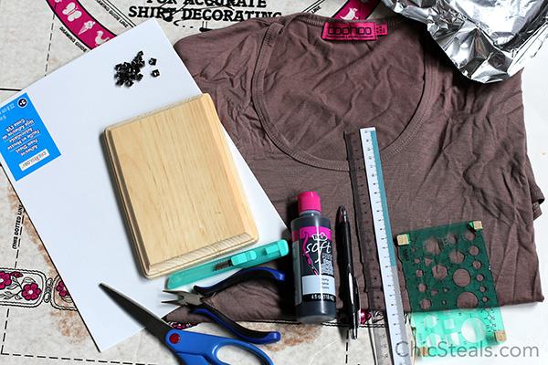 chicsteals_DIYtribalprintshirt_materials