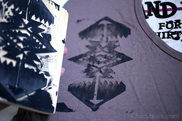 chicsteals_DIYtribalprintshirt_step7