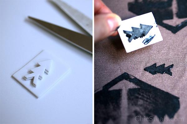 chicsteals_DIYtribalprintshirt_step8