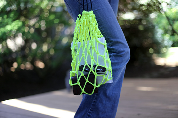 DIY Summer Net Bag