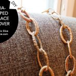 DIY Raffia-Wrapped Necklace Makeover by Kate Snyder of Dometic Slice