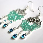 DIY Ombre Filigree Earrings