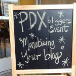 Back to School with Portland Bloggers Event Recap