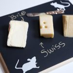 DIY Halloween Mice Cheese Platter