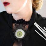DIY Spooky Gothic Decoupage Eyeball Brooch for Halloween with Martha Stewart Crafts