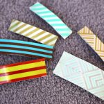 DIY Washi Tape Barrettes