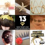 13 DIY New Year's Eve Headbands and Head Adornments