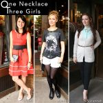 One Necklace, Three Girls with Flutter Boutique