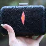 DIY Faux Stingray Box Clutch with Tulip Neon 3D Paints
