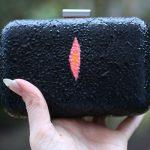 DIY Faux Stingray Box Clutch with Tulip Neon 3D Paints