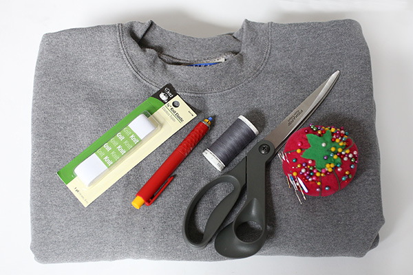 diysweatshirtsleeveskirt_materials