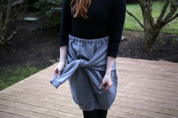 Skirts with Sleeves