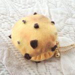 DIY Chocolate Chip Cookie Macaron Coin Purse