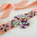 DIY Radiant Rhinestone Anthropologie Belt
