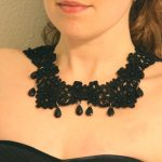 DIY Gossip Girl-Inspired Crochet Beaded Necklace and How to Make Perfect Loops in Headpins for Jewelry-Making