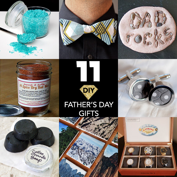 11 diy father 39 s day gifts that will make his day chic for Creative gifts for dad from daughter