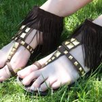 DIY Fringed Gladiator Sandals: Create Couture Challenge