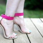 DIY Elastic Banded Strappy Sandals