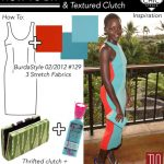DIY That Style! Lupita Nyong'o's Chic Sheath and Textured Clutch