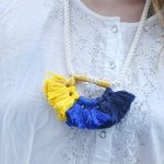 DIY Anthropologie Colorful Summer Tassel Necklace
