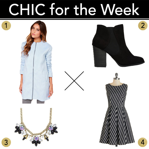 Chic for the Week shopping product wishlist
