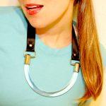 DIY in 5: Acrylic Bib Necklace