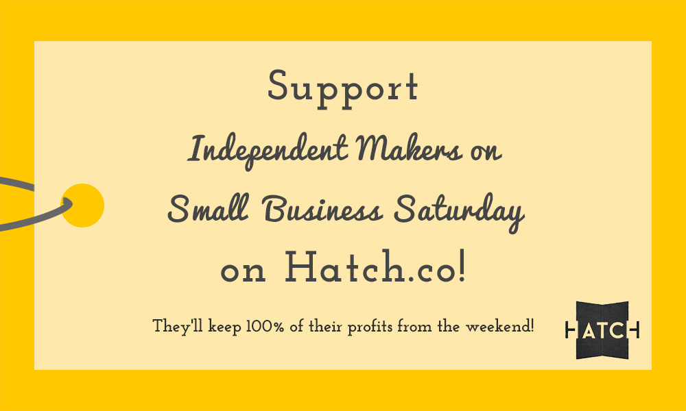 small business Saturday on Hatch.co