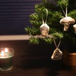 DIY Illustrated Hand-Sewn Woodland Ornaments
