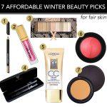 7 Affordable Winter Beauty Picks for Fair Skin