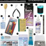 The 13 Must-Have Tools for Embellishing DIYs