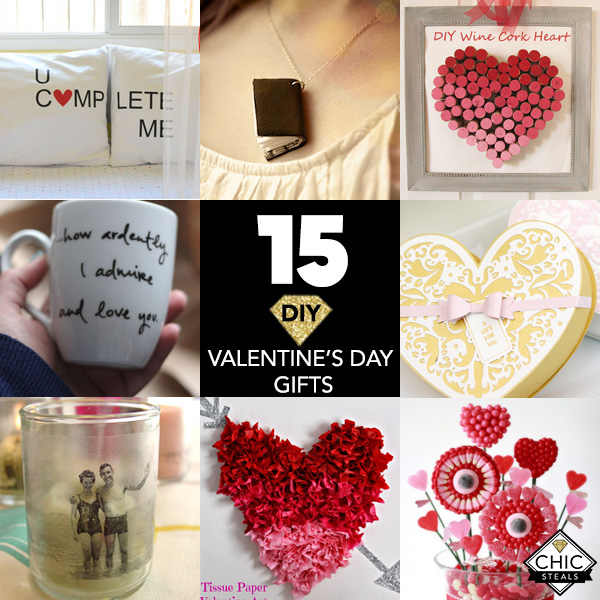 15 diy valentine's day gifts for everyone - chic creative life, Ideas