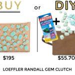 Buy or DIY: Loeffler Randall Gem Clutch