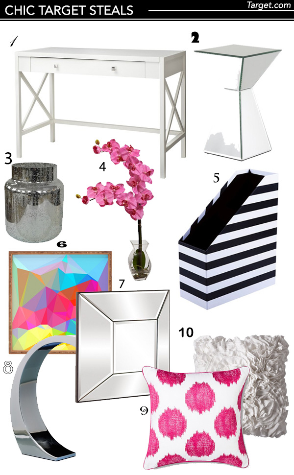 Chic Target home decor room furnishings and accessories
