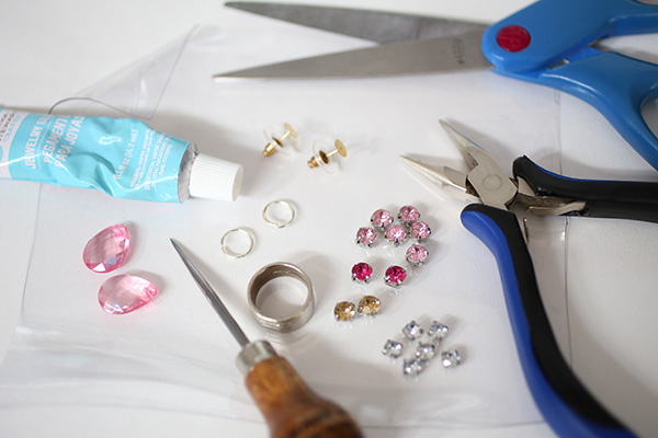 diy-illusion-jeweled-earrings-materials