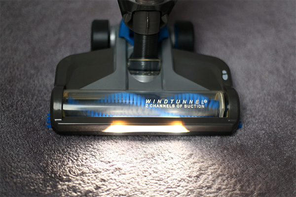 Hoover 2-in-1 cordless vacuum light